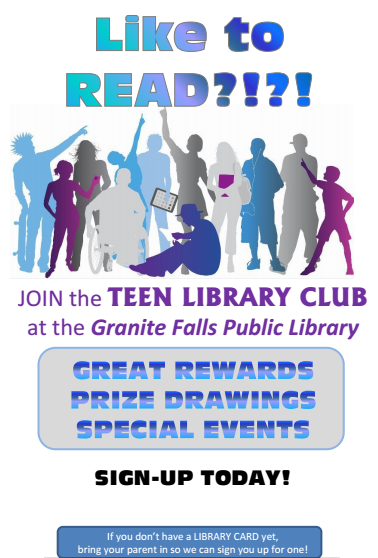 Teen library club image